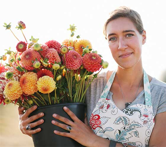 Erin Benzakein Organic Farmer-Florist & Author at Floret Flowers