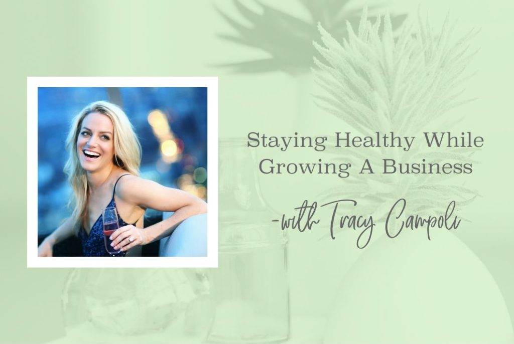 SS 14 Stay Healthy While Growing Your Business - www.theresaloe.com